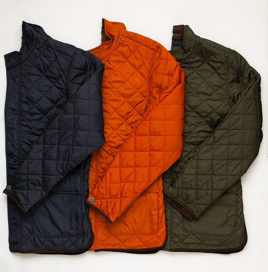 Fall Essentials: Quilted Vests and Jackets   Hickey Freeman Blog : lightweight quilted jackets - Adamdwight.com
