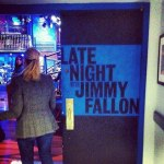 Our trip to Late Night with Jimmy Fallon at 30 Rock.